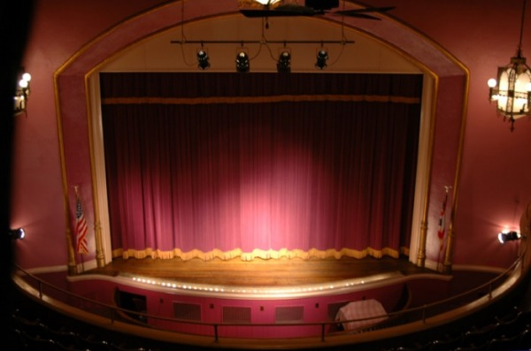 Image Gallery proscenium stage